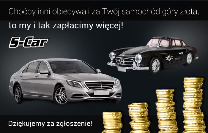 Bardzo dobry Oddamy wszystko za Twoje Auto Skup Rzeszów | S-Car PO95