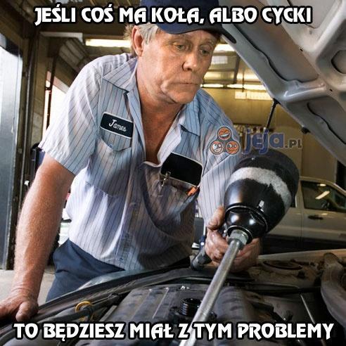 śmieszne mechanika
